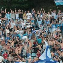 Лавочки на стадионе «Динамо» восстанавливают для фанатов «Карпат»