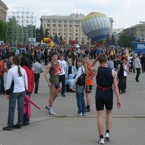 Харьковские школьники попытались сократить «Слобожанскую милю» (ФОТО)