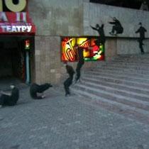 В Харькове прошел семинар по паркуру