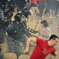 Фанаты «Динамо» сразятся с «Беркутом» на футбольном поле