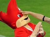 Победоносный хорват выбил глаз талисману Евро-2008 (МЕГАФОТО)