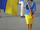 Украинцы прошли строем по стадиону в Пекине (ФОТО)