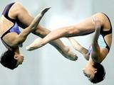 Украинские спортсменки заняли 7-е место в синхронных прыжках в воду