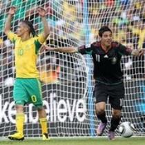 Первый матч Чемпионата Мира ЮАР и Мексика сыграли вничью