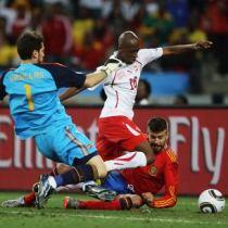 Сенсация ЧМ-2010: Швейцария обыграла Испанию, действующего Чемпиона Европы