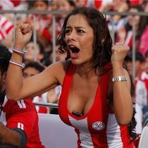Самой известной болельщицей Чемпионата Мира стала модель из Парагвая (Фото)