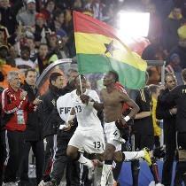ЧМ-2010: Уругвай - Гана. Анонс матча 1/4 финала