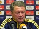 Мирон Маркевич: «Самое основное – показать хороший футбол»