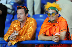 Голландия в Харькове прощается с Евро-2012