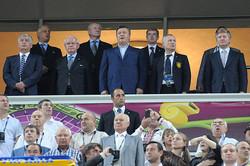 Сборная Украины прощается с Евро-2012