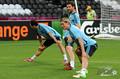 Франция и Испания провели открытые тренировки