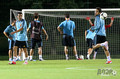 Открытые тренировки Португалии и Испании в Донецке