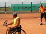Голландцы дают мастер-класс харьковским теннисистам-колясочникам (ФОТО)