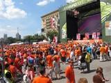 Десятки тысяч болельщиков приедут в Харьков на матч Германия-Голландия