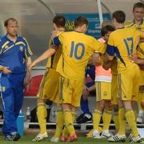 Сборная Украины разбила шведов