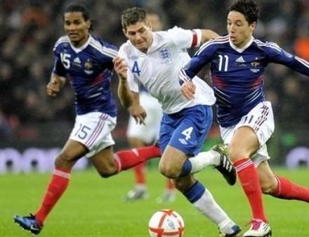 Евро-2012: Франция сравняла счет в матче против Англии