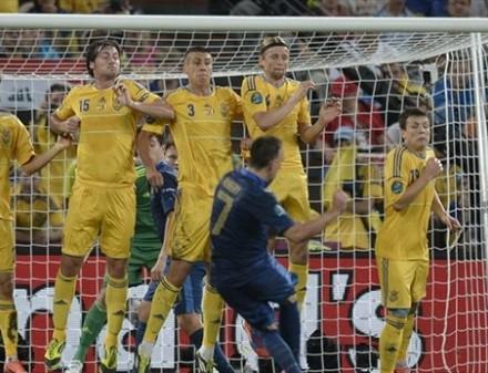 Французы вновь бьют сборную Украины на Донбасс Арене