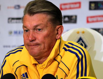 Олег Блохин: «За проигрыш команды беру вину на себя»