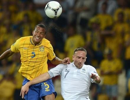 Утешительный приз. Шведы нанесли поражение сборной Франции.