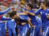 Греция обыграла Россию со счетом 1:0, оставив ее без четвертьфинала