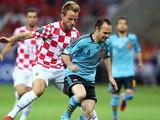 Сборная Испании на последних минутах одолела Хорватию