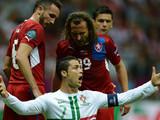 Гол Роналду принес сборной Португалии победу над чехами и полуфинал Евро-2012
