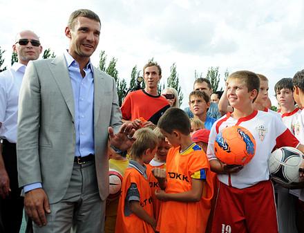 Андрей Шевченко посетил Харьков