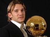 Шевченко вручит Золотой мяч