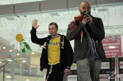 Федченко и Уазгари провели открытую тренировку