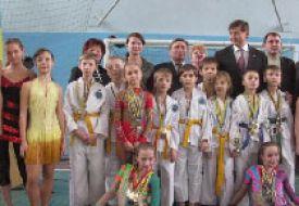 В Харьковской школе закрыли локальные Олимпийские игры