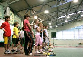 Первая ракетка Украины по теннису дал мастер-класс юным харьковчанам