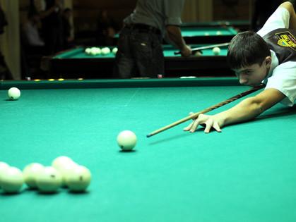 В Харькове стартовал бильярдный турнир