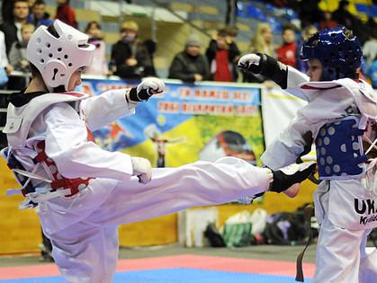 В Харькове проходит Чемпионат Украины по тхэквондо