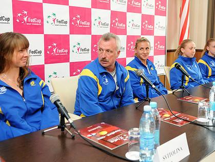 Сборные Украины и США провели пресс-конференцию