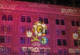 Логотип Евро-2012 приехал в Харьков
