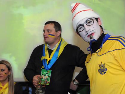 Жеребьевку Евро 2012 транслировали в Старгороде