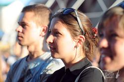 В харьковской фан-зоне прошел пятичасовой музыкальный марафон