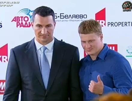 Бой Поветкин - Кличко посетят легендарные боксеры прошлых лет