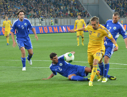 Украина - Сан-Марино. Яркие моменты матча