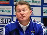 Олег Блохин: «Команду мне не в чем упрекнуть»