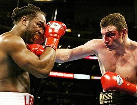 Льюис готов вернуться в бокс ради боя с Кличко
