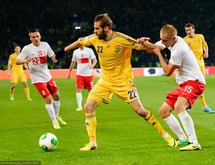 Сборная Украины в Харькове победила Польшу
