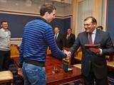 Богдан Бондаренко получил высшую награду региона