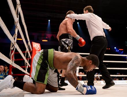 Узелков выиграл пояс интернационального чемпиона IBO