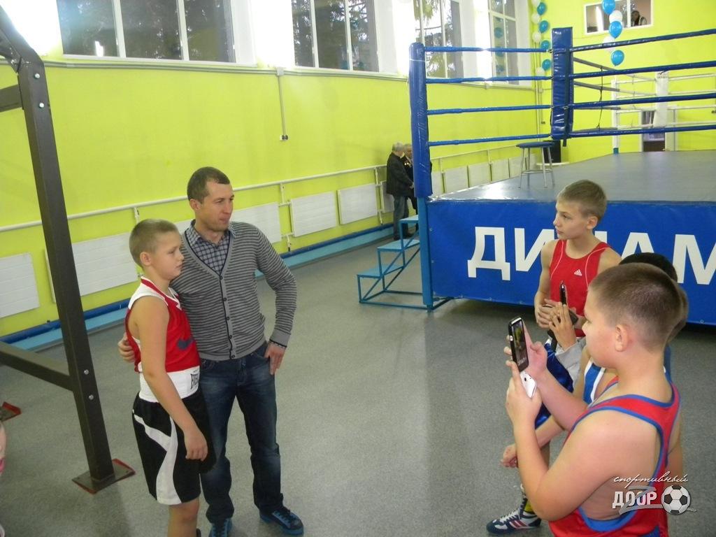 В Харькове открыли новый зал бокса (ФОТО)