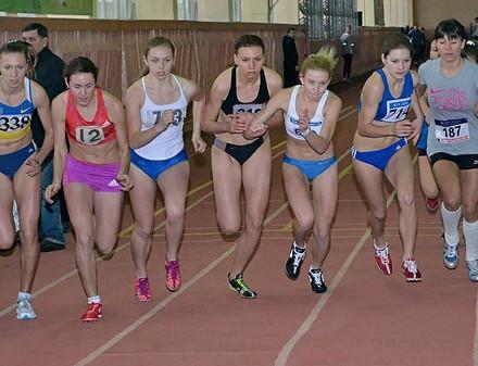 Харьковские легкоатлеты начали зимний сезон