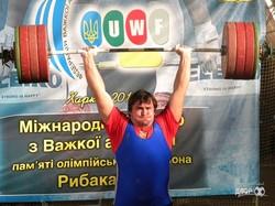 Харьковские тяжелоатлеты – победители турнира памяти Рыбака (ФОТО)