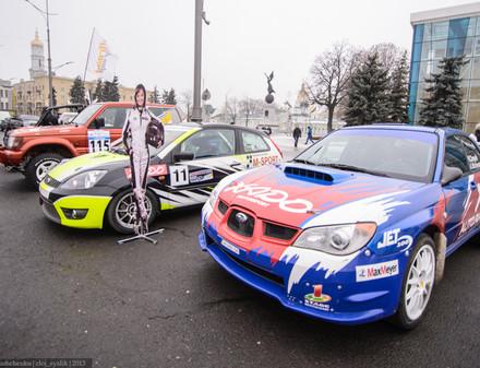 В Харькове прошла выставка спортивных автомобитлей