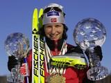 Многократная олимпийская чемпионка Марит Бьорген выиграла золото и в Сочи