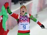 Сочи-2014. Белоруска  – трехкратная олимпийская чемпионка в биатлоне